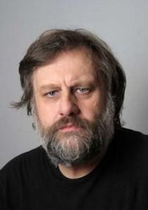 """Slavoj  Zizek , philosophe slovene, auteur du livre  """" Bienvenue dans le des    ert du reel"""" PARIS, FRANCE , 29/11/2005"""
