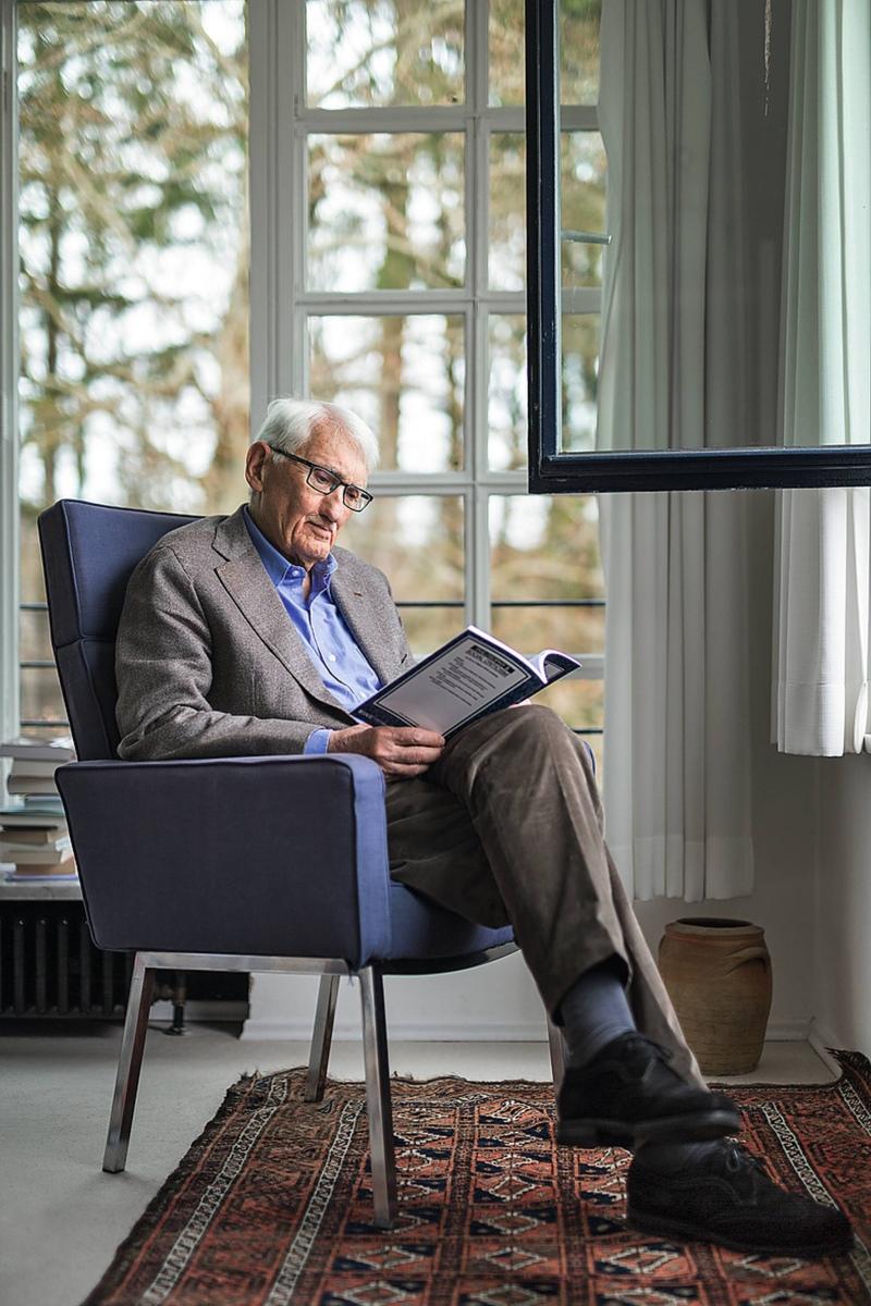 Não pode haver intelectuais se não há leitores- Entrevista com Jürgen Habermas